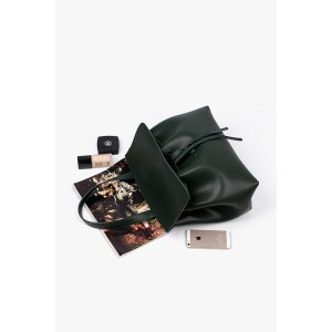 Dark Green Crossbody and Shoulder Bag