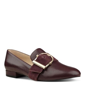 Zance Buckle Strap Loafers