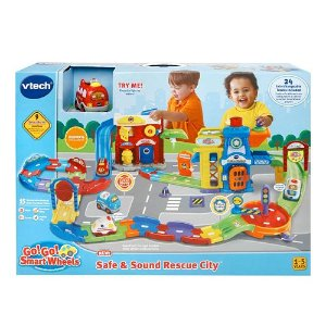 2016 Black Friday! $33.99 VTech Go! Go! Smart Wheel Safe & Sound Rescue City