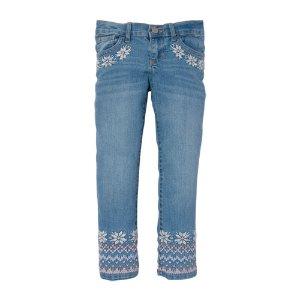 Girls Basic Skinny Jeans - True Indigo Wash   The Children's Place