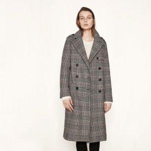 GILBERT Long military-style coat - Coats & Jackets - Maje.com