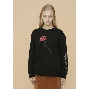 YUPPE Flower Sweater Black