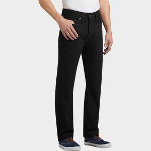 Levi's® 505™ Black Classic Fit Jeans - Men's Classic Fit | Men's Wearhouse