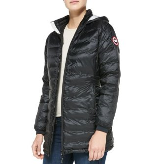 11% Off Canada Goose Camp Hooded Mid-Length Puffer Coat @ Bergdorf Goodman, Dealmoon Singles Day Exclusive