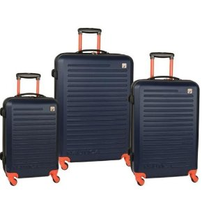 Nautica Tide Beach 3 Piece Hardside Spinner Luggage Set