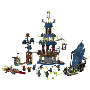 LEGO 70732 Ninjago City of Stiix (1069 Piece) + LEGO Ultimate Lavaria 70335