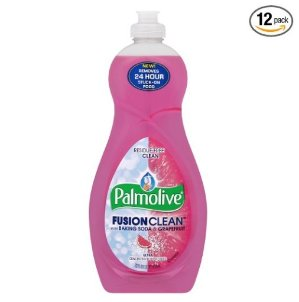 $10.13 Pack of 12 Palmolive Fusion Clean Dish Liquid, Grapefruit, 22 Fluid Ounce (Pack of 12)