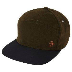 MELTON WOOL BASEBALL CAP