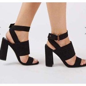 MONICA Block Heel Sandals