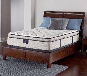 $498Serta Perfect Sleeper Castleview Cushion Firm Pillowtop Queen Mattress Set