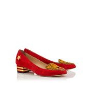 MASCOT|COURT SHOE SS|Charlotte Olympia SHOES