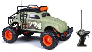 $16.35 Maisto R/C Desert Rebel Volkswagen Beetle Radio Control Vehicle (1:10 Scale)
