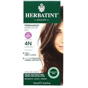 HERBATINT PERMANENT HAIR COLOR GEL -4N Chestnut