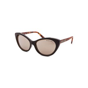 Michael Kors MK2014-CL-30655A Sunglasses,Women's Paradise Beach Cat Eye Black Sunglasses, Sunglasses Michael Kors Sunglasses Sunglasses