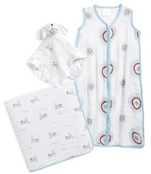 aden + anais 'Sweet Dreams' Dream Blanket, Lovey & Sleeping Bag Wearable Blanket Gift Set