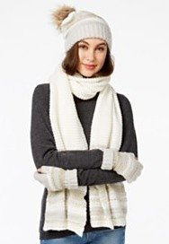 40% Off+Extra 20% Off Winter Accessories & Gloves @ macys.com