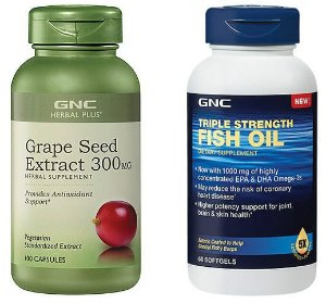 $7.99 GNC Herbal Plus® Grape Seed Extract 300 mg 100 Capsules