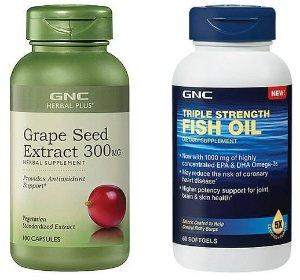 $7.99 GNC Herbal Plus® Grape Seed Extract 300 mg 100 Capsules