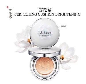 15% Off SULWHASOO Perfecting Cushion Brightrning SPF50+PA+++ 15g*2,  #23 Medium Beige or #21 Medium Pink