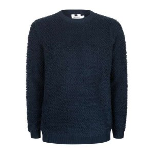 Navy Soft Touch Slim Fit Sweater - New This Week - New In - TOPMAN USA
