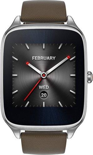 Asus - ZenWatch 2 WI501Q Smartwatch Silver