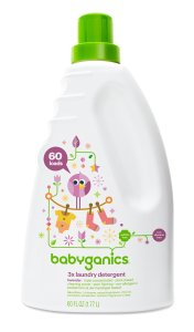 Babyganics 3X Baby Laundry Detergent, Lavender, 60 Fluid Ounce, Prime Member Only