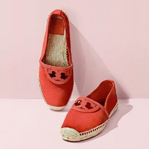 The Last Day!  30% Off with Espadrille Shoes Orders $250+ and Free Shipping@ Tory Burch