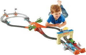 Fisher-Price Thomas the Train Track Master Thomas & Percy's Railway Race Set