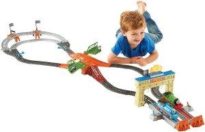 Fisher-Price Thomas the Train Track Master Thomas & Percy's Railway Race Set