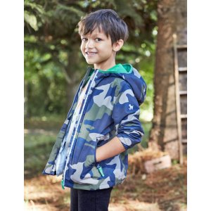 Printed Pack-away Jacket 25115 Jackets at Boden