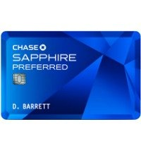 50,000 bonus points Chase Sapphire Preferred® Card Offers 2X points on travel and dining