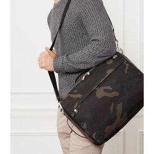 Camo Waxwear Convertible Briefpack - JackSpade