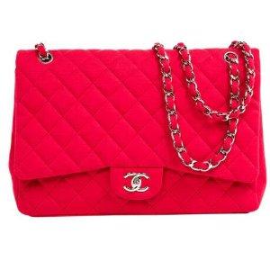 pink Plain Cloth CHANEL Handbag - Vestiaire Collective