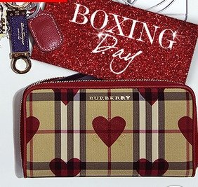 Up to 50% + Extra 18% OffBurberry Sale @ Reebonz