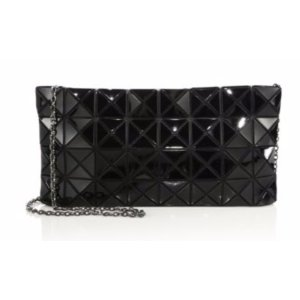 Bao Bao Issey Miyake Prism Basic Faux Patent Leather Shoulder Bag