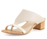 Donald J Pliner Maara T-Strap Slide Sandal, Platino