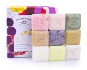 $10.50 Pre de Provence Classic French Soap Box 25g 9 Pieces Scented Herb