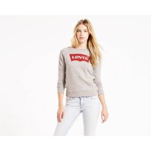 Graphic Crewneck Sweatshirt | Smokestack Batwing |Levi's® United States (US)