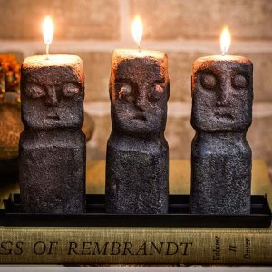 Tiki Candle