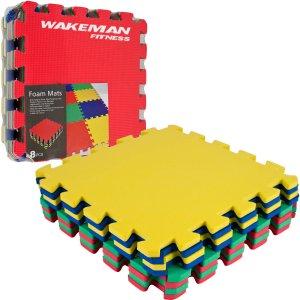 TG Multi-Color EVA Foam Exercise Mat, 8-Piece - Walmart.com