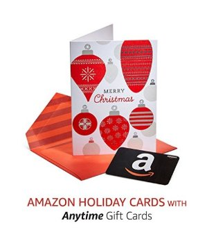 $0.99 Amazon Premium Holiday Greeting Cards with Anytime Gift Cards, Pack of 3