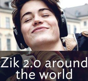 $209 Parrot Zik 2.0 Wireless Noise Cancelling Headphones (Multiple Colors)