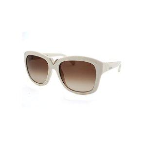 Valentino Women's Square Ivory Sunglasses