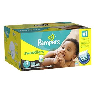 Amazon.com: Pampers Swaddlers Diapers Size 3 Economy Pack Plus, 162 Count (Packaging May Vary): Health & Personal Care