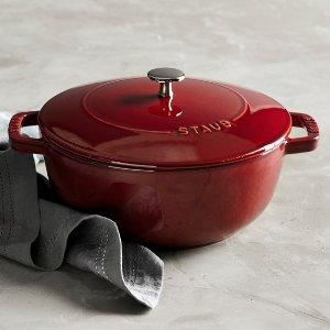 Staub Cast-Iron Essential Oven | Williams-Sonoma