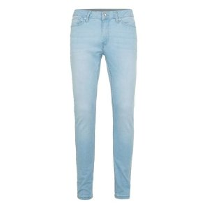 Bleach Wash Spray On Skinny Jeans - Men's Jeans - Clothing - TOPMAN USA