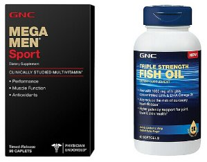 From $9.99 Fish And Multivamins Sale @ GNC