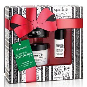 $42(reg.$70) philosophy The Spirit of Miracles Kit