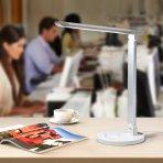 $24.99 TaoTronics LED Desk Lamp Eye-caring Table Lamp (White)