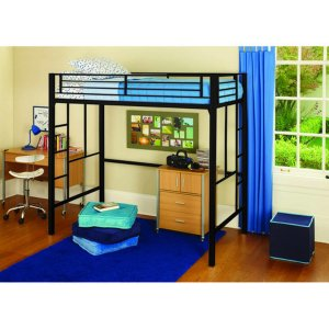 your zone metal loft twin bed, Multiple Colors